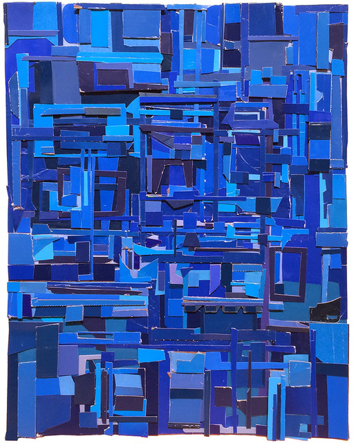 , 'Geography in blue,' 2014, Dolby Chadwick Gallery