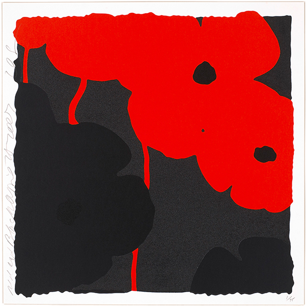 , 'Red and Black,' 2007, Andrea S. Keogh Art and Design