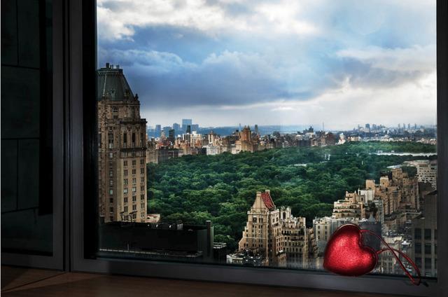 David Drebin, 'Love Over Central Park', 2019, Contessa Gallery