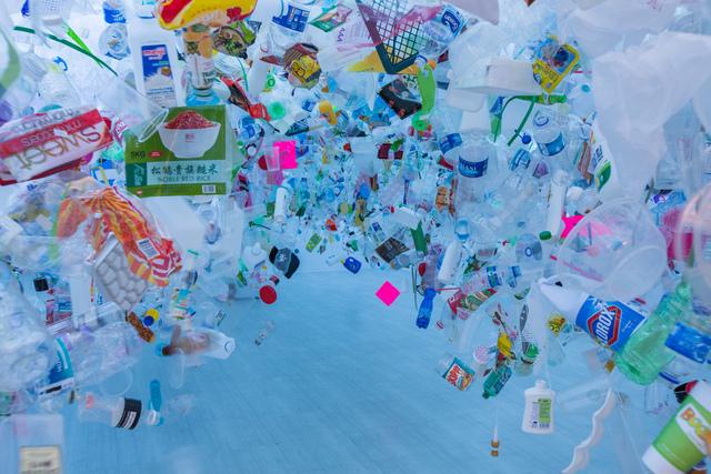 , 'Plastic Ocean,' 2016, Singapore Art Museum (SAM)