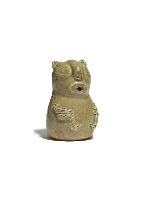, 'A 'Yue' ware celadon-glazed 'bear' shaped vessel,' Western Jin (266-316 AD), Littleton & Hennessy Asian Art