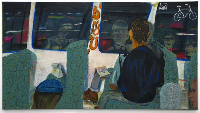 , 'Night Train,' 2016, Beers London