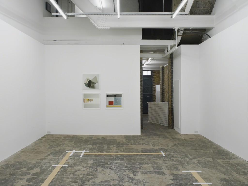 Installation view of 'As fas as' by Anne Tallentire at Hollybush Gardens, London