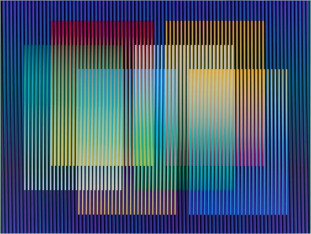 Carlos Cruz-Diez, 'Color Aditivo Panam 6', 2010, Galería RGR