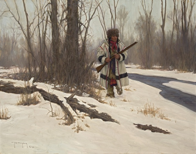 Robert Duncan, 'Hunting the River Bottoms', 2020, Painting, Oil on canvas, Trailside Galleries