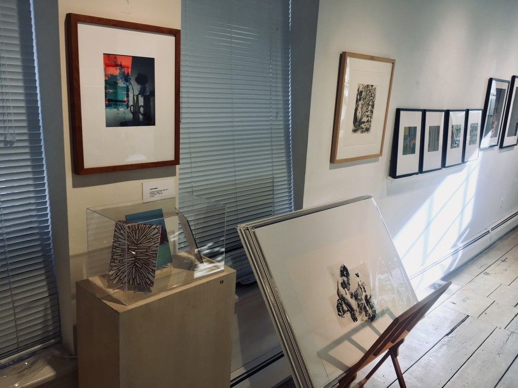 Prints from Justin Baker, Barbara Friedman, Eric Fischl & John Foxx