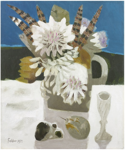 , 'Feathers,' 1973, Portland Gallery