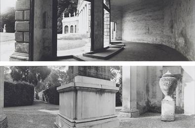 Geoffrey James, 'Villa Pisani, Stra, Veneto, 1984; Villa Medidi, Alley from the Pincio Wal the Courtyard Garden, 1984,' 1984, Waddington's: Concrete Contemporary