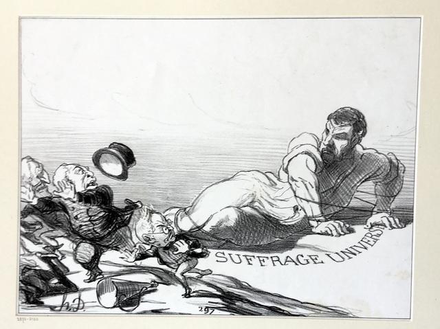 Honoré Daumier, 'Panic of the Lilliputians', 1851, Harris Schrank Fine Prints