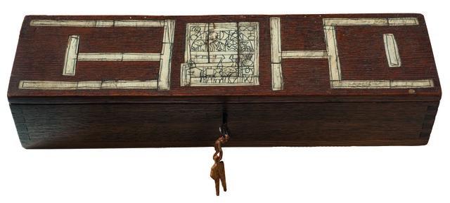 , 'Caja con taracea,' 1954, Galería de las Misiones