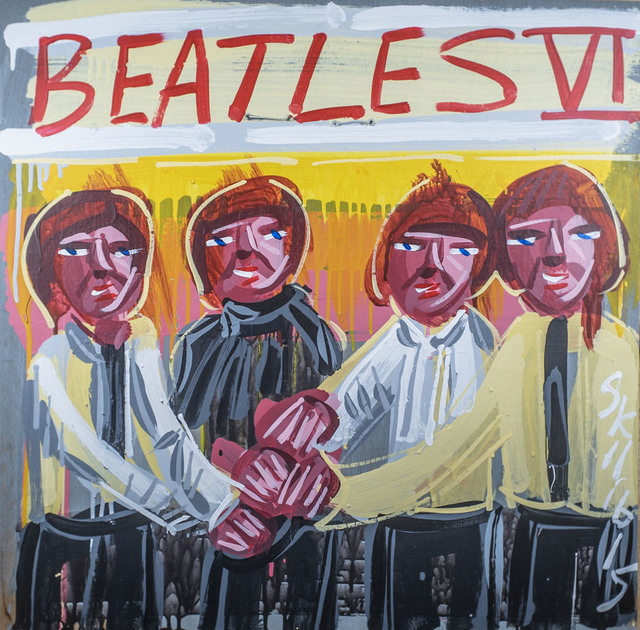 , 'Beatles - IV,' 2015, Subliminal Projects