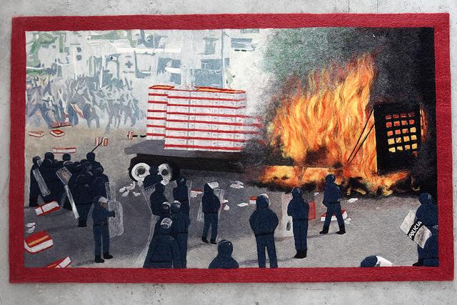 , 'Nochixtlán 2016 (I),' 2018, Galeria Enrique Guerrero
