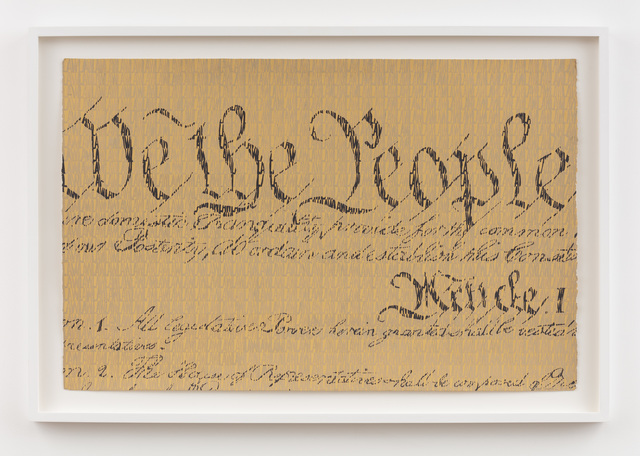 , 'We the People...,' 1983, P.P.O.W