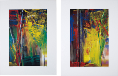 Gerhard Richter, 'Victoria I and II,' 2003, Phillips: Evening and Day Editions