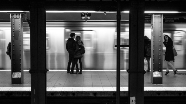 , 'Subway Lovers,' 2012, Fabrik Projects Gallery