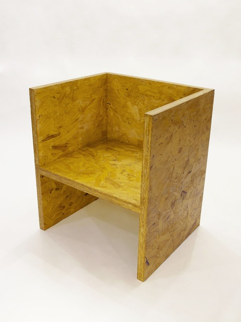 Ro lu cube chair osb available for sale artsy