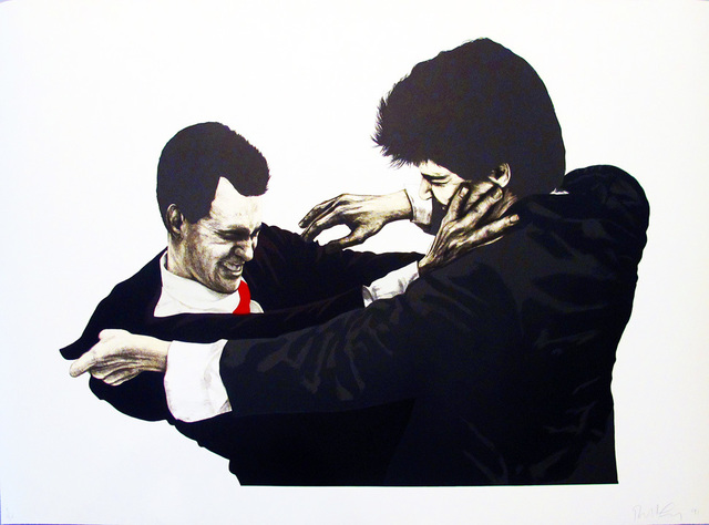 Robert Longo, 'Frank & Glenn', 1995, Hamilton-Selway Presents: Blue-Chip Editions Part III