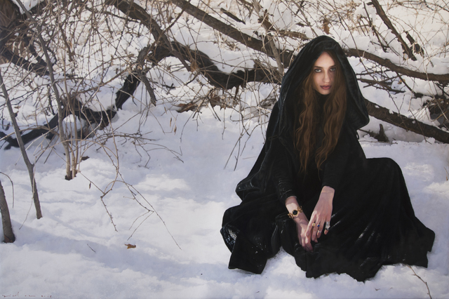 , 'Untitled, Lizzie in the Snow 02,' 2016, Onishi Gallery