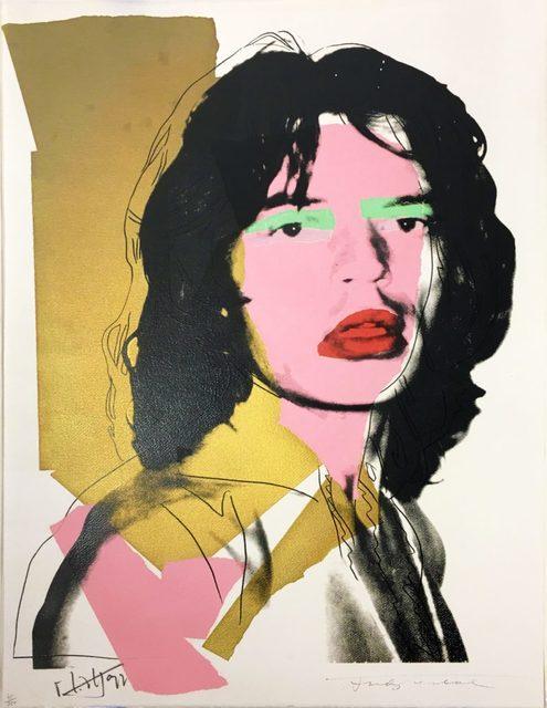 Andy Warhol, 'Mick Jagger II.143', 1975, Hamilton-Selway Fine Art