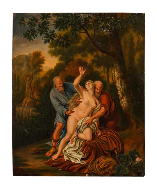 Willem van Mieris, 'Susannah and the Elders', Capsule Gallery Auction