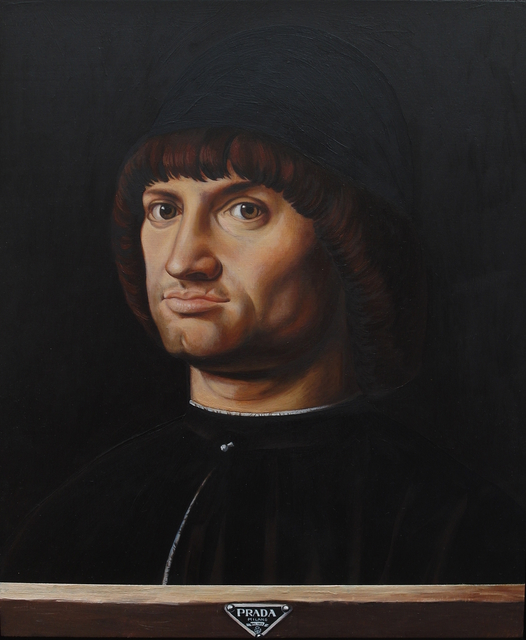 , 'D'après Antonello Da Messina - Portrait d'homme, dit Le Condottiere,' 2016, Less is More Projects