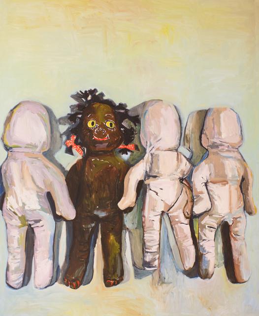 , 'Gracie's White Friends,' 2016, C. Grimaldis Gallery