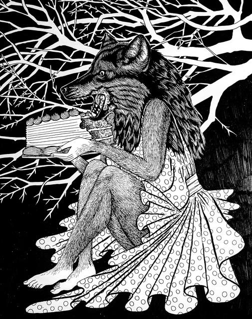 , 'Werewolf's Birthday,' 2017, Marta Hewett Gallery