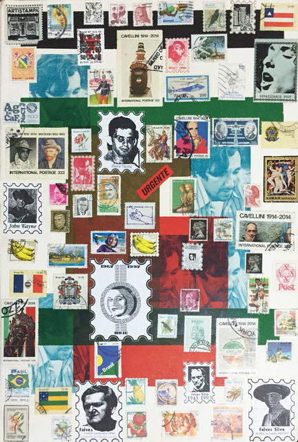, 'Artist's stamps VII, from the series 'Postal Art',' 1998, Galeria Superfície