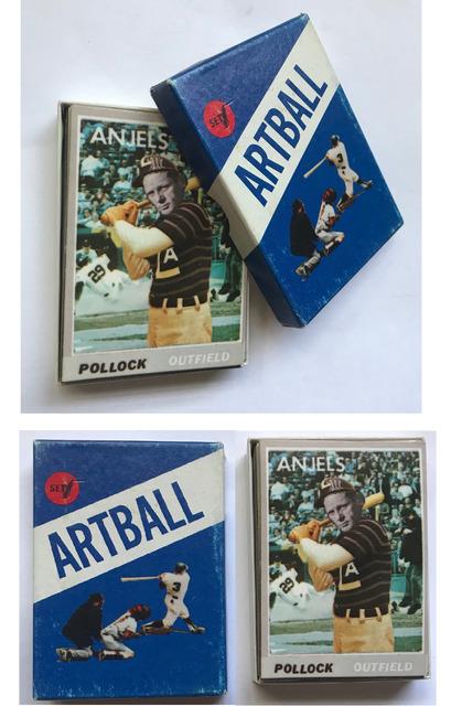 "Andy Warhol, '""ARTBALL""- Set #1, Don Celender, 1971, Multiple Edition Playing Cards', 1971, VINCE fine arts/ephemera"