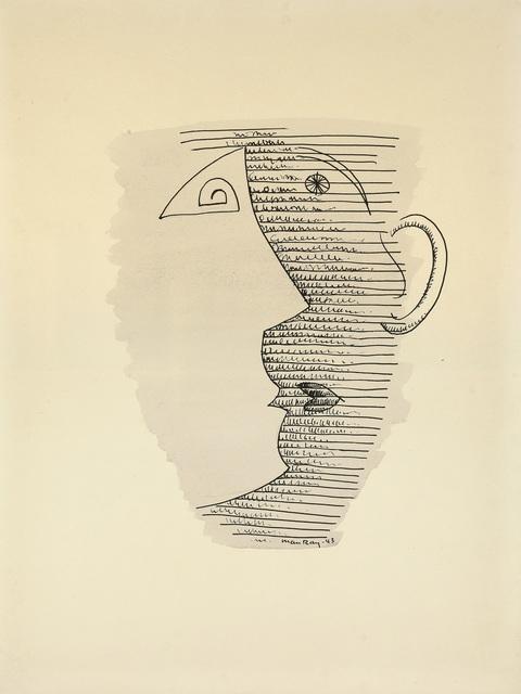 , 'The Mug Drawing III,' 1943, Galerie Francesco Vangelli de'Cresci