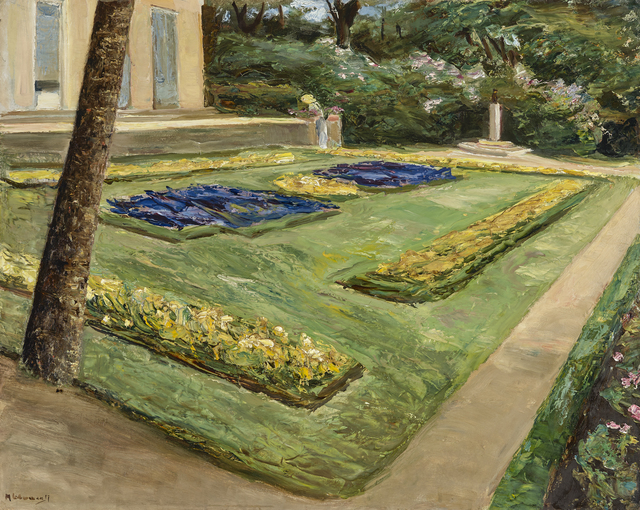 , 'The Flower Terrace, Wannsee Garden to the North-West,' 1917, Daxer & Marschall