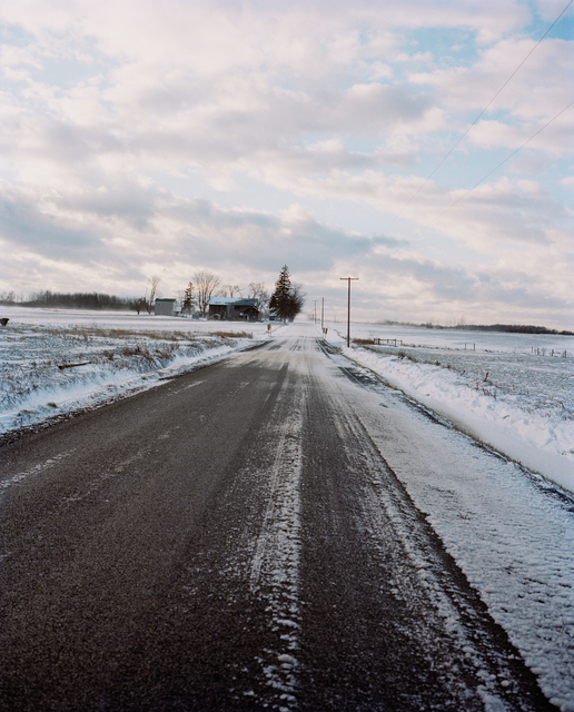 , 'Road in Snow,' 2005-2018, Huxley-Parlour