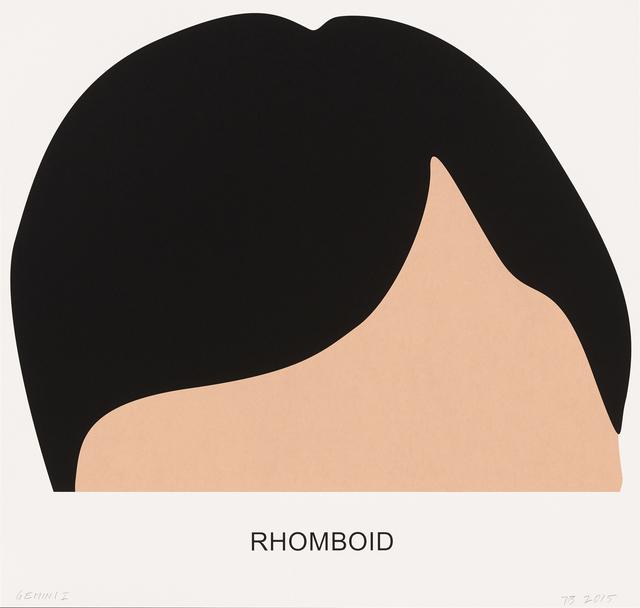 John Baldessari, 'Rhomboid', 2016, Print, 3 color screenprint, Gemini G.E.L.