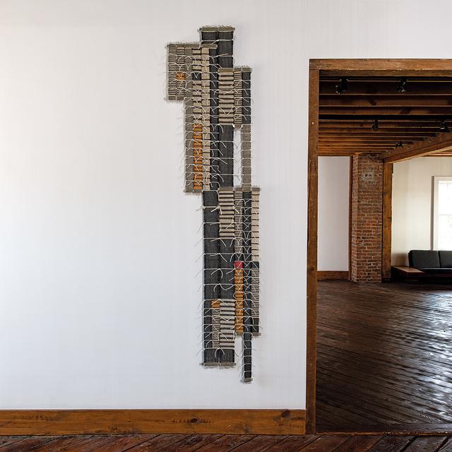 Blair Tate, 'Record', 2020, Textile Arts, Woven linen, cotton cord, browngrotta arts