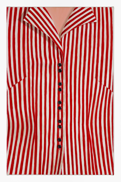 , 'Striped Blouse (Red),' 2014, Charles Nodrum Gallery