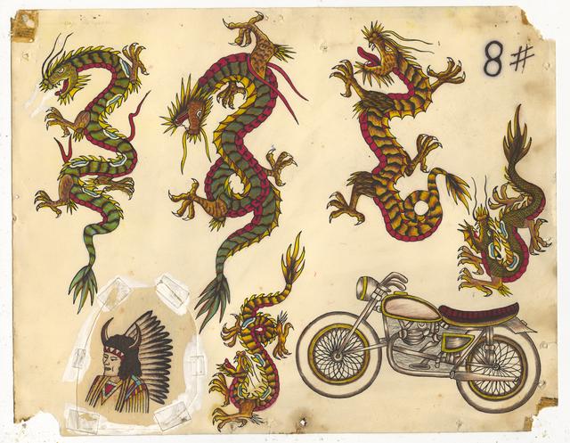 , 'Untitled (Dragons Motorcycle),' ca. 1950, Ricco/Maresca Gallery