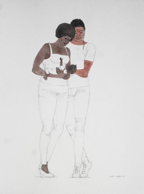 , 'Flight into Egypt,' 2018, Ed Cross Fine Art