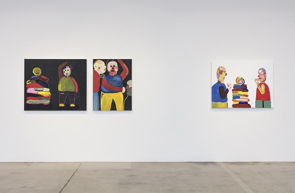 Gabby Rosenberg. Night Pockets, Installation view, Steve Turner, 2019