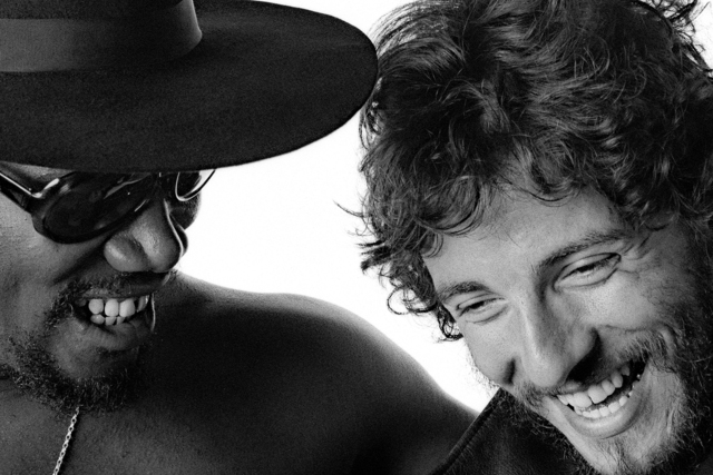 , 'Bruce Springsteen and Clarence Clemons: Big Man and Bruce close up,' 1975, Snap Galleries
