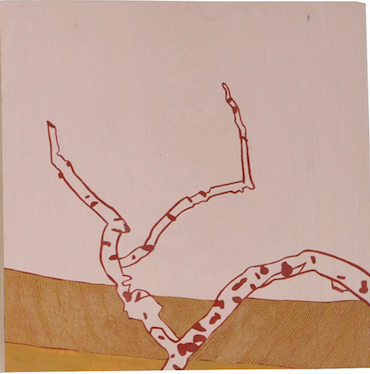 , 'Branch/Pink Sky,' 2014, MiXX projects + atelier