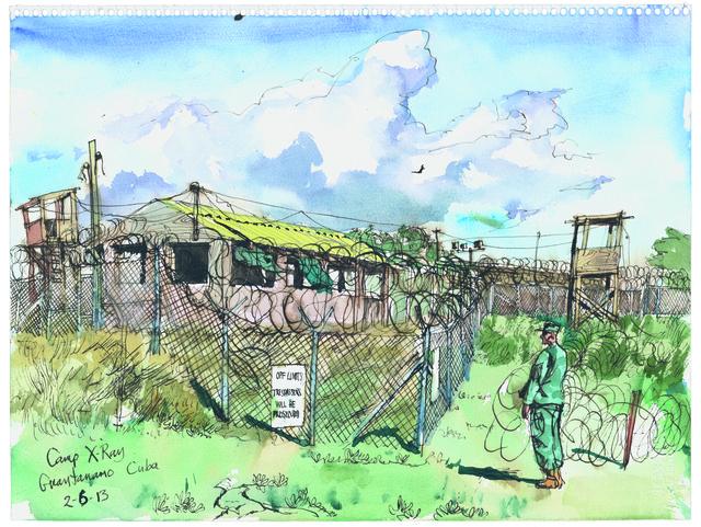 , '2/6/13, Camp X-Ray, Guantanamo Bay, Cuba,' 2013, Postmasters Gallery