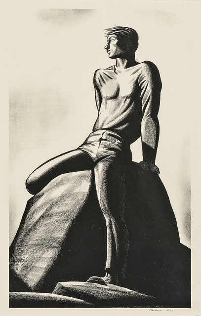 Rockwell Kent, 'Pinnacle', 1928, Print, Lithograph on paper, Skinner