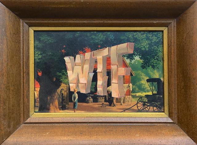 , 'WTF,' 2018, Joshua Liner Gallery
