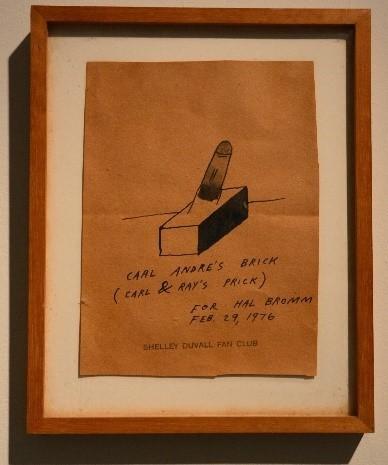 Ray Johnson, 'Carl Andre's Brick (Carl and Ray's Prick)', 1976, Hal Bromm