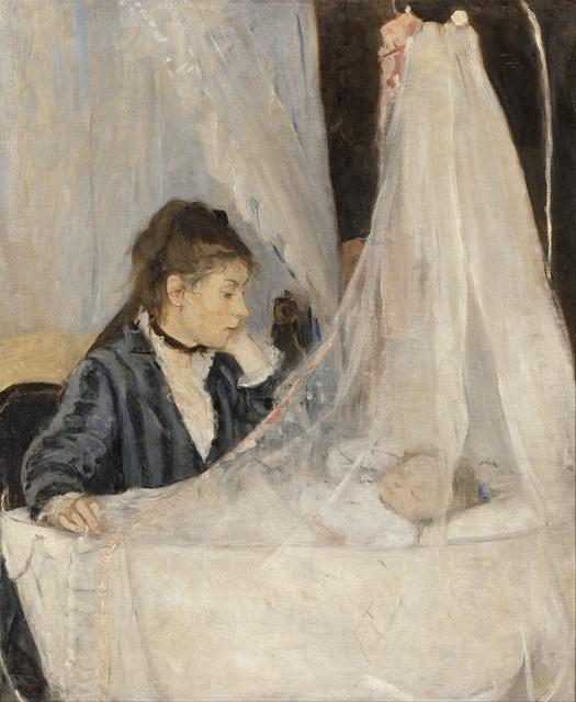 Berthe Morisot, 'Le Berceau (The Cradle)', 1872, Musée d'Orsay