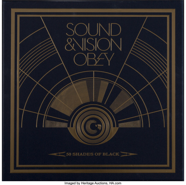 Shepard Fairey, 'Sound & Vision Obey: 50 Shades of Black, box set', 2014, Heritage Auctions