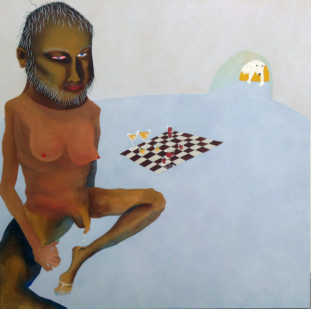 , 'Dicaprio, chess, and polar bear,' 2016, NUNU FINE ART