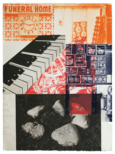 Robert Rauschenberg, 'American Pewter with Burroughs VI', 1981, Gemini G.E.L. at Joni Moisant Weyl