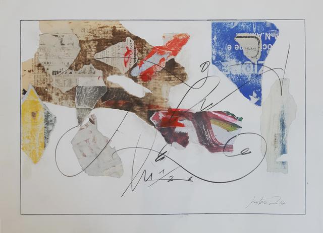 , 'work n° 4,' 2014, Galleria Quadrifoglio