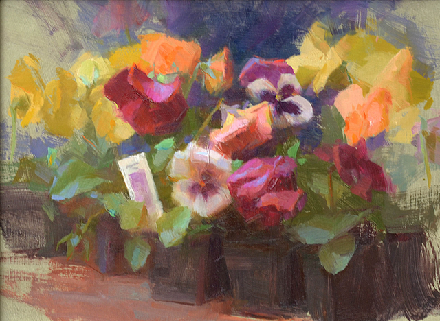 , 'Pansies ,' , Gallery 1261